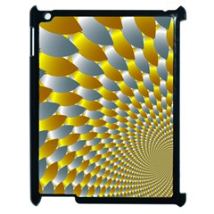 Fractal Spiral Apple Ipad 2 Case (black) by Simbadda