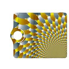 Fractal Spiral Kindle Fire Hdx 8 9  Flip 360 Case by Simbadda