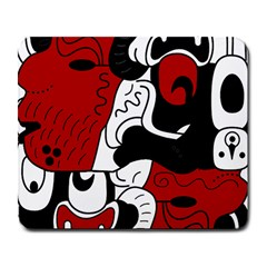 Mexico Large Mousepads by Valentinaart