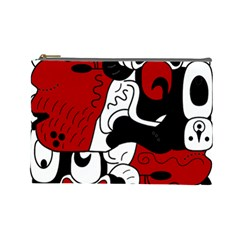 Mexico Cosmetic Bag (large)  by Valentinaart