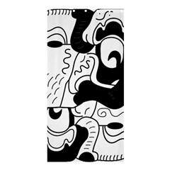 Mexico Shower Curtain 36  X 72  (stall)  by Valentinaart