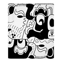 Mexico Shower Curtain 60  X 72  (medium)  by Valentinaart