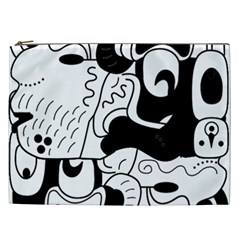 Mexico Cosmetic Bag (xxl)  by Valentinaart