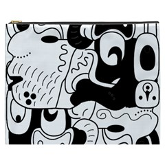 Mexico Cosmetic Bag (xxxl)  by Valentinaart