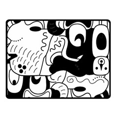 Mexico Double Sided Fleece Blanket (small)  by Valentinaart