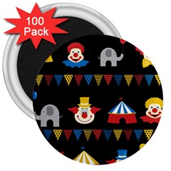 Circus  3  Magnets (100 Pack) by Valentinaart