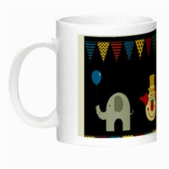 Circus  Night Luminous Mugs by Valentinaart
