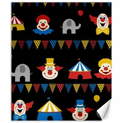 Circus  Canvas 20  X 24   by Valentinaart