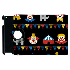 Circus  Apple Ipad 3/4 Flip 360 Case by Valentinaart