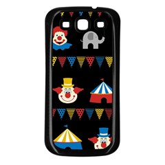 Circus  Samsung Galaxy S3 Back Case (black) by Valentinaart