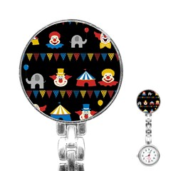 Circus  Stainless Steel Nurses Watch by Valentinaart