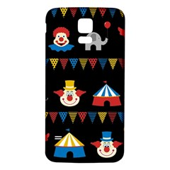 Circus  Samsung Galaxy S5 Back Case (white) by Valentinaart