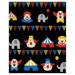 Circus  Drawstring Bag (small) by Valentinaart