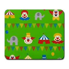 Circus Large Mousepads by Valentinaart