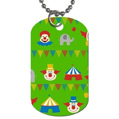 Circus Dog Tag (one Side) by Valentinaart
