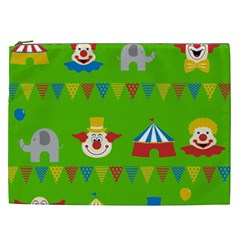Circus Cosmetic Bag (xxl)  by Valentinaart