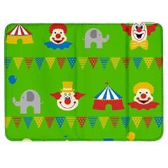 Circus Samsung Galaxy Tab 7  P1000 Flip Case by Valentinaart