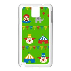 Circus Samsung Galaxy Note 3 N9005 Case (white) by Valentinaart