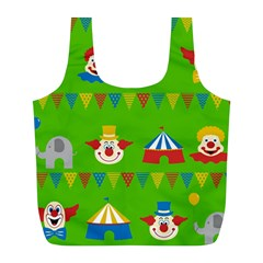 Circus Full Print Recycle Bags (l)  by Valentinaart
