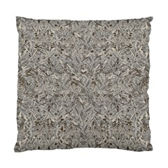 Silver Tropical Print Standard Cushion Case (one Side) by dflcprints