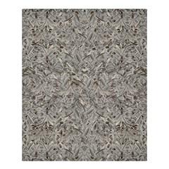 Silver Tropical Print Shower Curtain 60  X 72  (medium)  by dflcprints