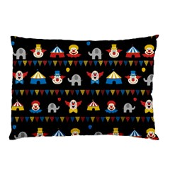 Circus Pillow Case (two Sides) by Valentinaart