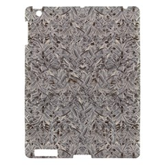 Silver Tropical Print Apple Ipad 3/4 Hardshell Case by dflcprints