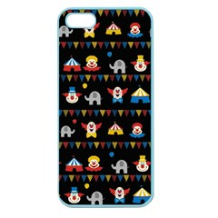 Circus Apple Seamless Iphone 5 Case (color) by Valentinaart