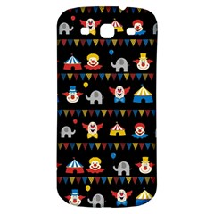 Circus Samsung Galaxy S3 S Iii Classic Hardshell Back Case by Valentinaart