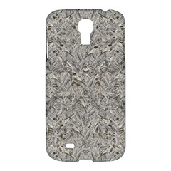 Silver Tropical Print Samsung Galaxy S4 I9500/i9505 Hardshell Case by dflcprints