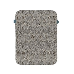 Silver Tropical Print Apple Ipad 2/3/4 Protective Soft Cases by dflcprints