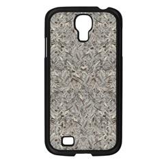 Silver Tropical Print Samsung Galaxy S4 I9500/ I9505 Case (black) by dflcprints