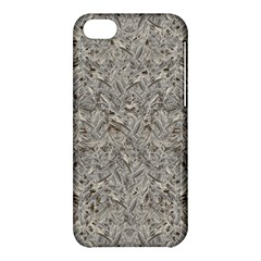 Silver Tropical Print Apple Iphone 5c Hardshell Case by dflcprints