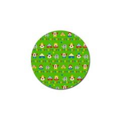 Circus Golf Ball Marker by Valentinaart