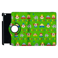 Circus Apple Ipad 2 Flip 360 Case by Valentinaart