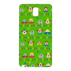 Circus Samsung Galaxy Note 3 N9005 Hardshell Back Case by Valentinaart