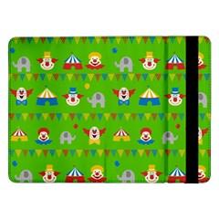 Circus Samsung Galaxy Tab Pro 12 2  Flip Case by Valentinaart
