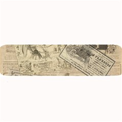Vintage Newspaper  Large Bar Mats by Valentinaart