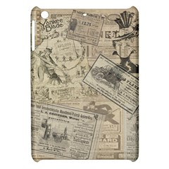Vintage Newspaper  Apple Ipad Mini Hardshell Case by Valentinaart