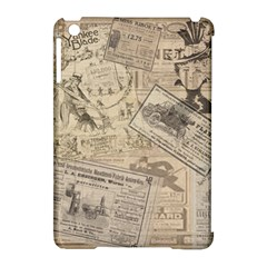 Vintage Newspaper  Apple Ipad Mini Hardshell Case (compatible With Smart Cover) by Valentinaart