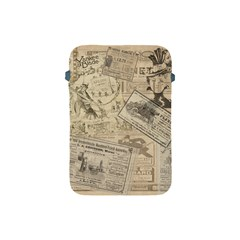 Vintage Newspaper  Apple Ipad Mini Protective Soft Cases by Valentinaart