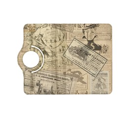 Vintage Newspaper  Kindle Fire Hd (2013) Flip 360 Case by Valentinaart