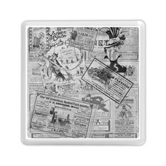 Vintage Newspaper  Memory Card Reader (square)  by Valentinaart
