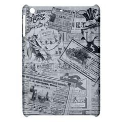 Vintage Newspaper  Apple Ipad Mini Hardshell Case by Valentinaart