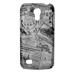 Vintage Newspaper  Galaxy S4 Mini by Valentinaart