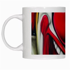 Clown White Mugs by Valentinaart