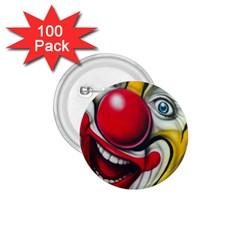 Clown 1 75  Buttons (100 Pack)  by Valentinaart