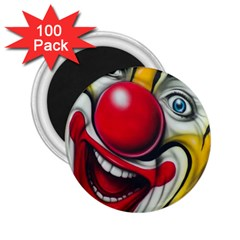 Clown 2 25  Magnets (100 Pack)  by Valentinaart