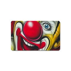 Clown Magnet (name Card) by Valentinaart