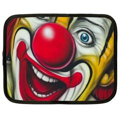 Clown Netbook Case (xl)  by Valentinaart